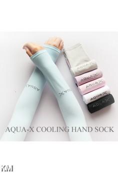 K&M Top Korean Aqua X Cooling Hand Sock [M21807]