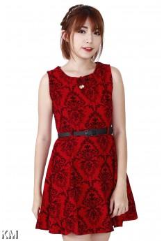 Lady Floral Dress [M24590]
