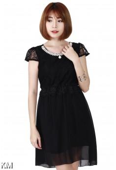 Beauty Lace Dress [M24612]