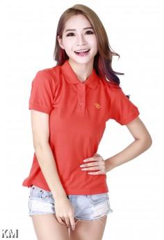 Lady Polo Shirt Orange [M10556]