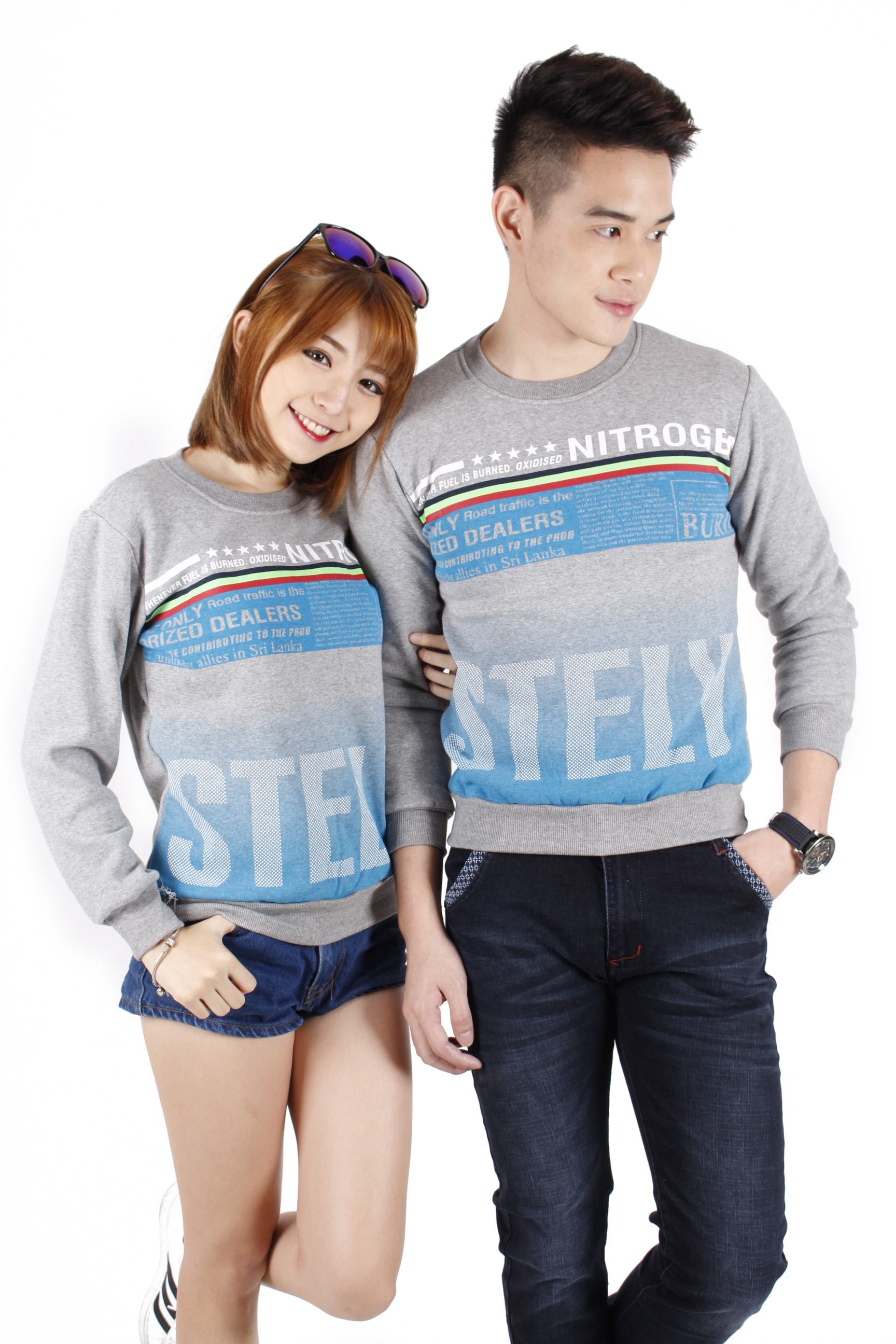 Couple tshirt printing top tee m29625 11street malaysia for Best online tee shirt printing