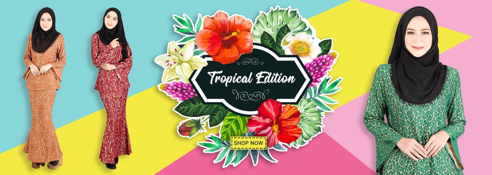 Baju Kurung Tropical