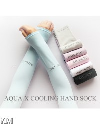 K&M Top Korean Aqua X Cooling Hand Sock [M21807]
