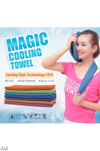 K&M Cooling Sport Towel / Cooling Multipurpose Towel [M21783]