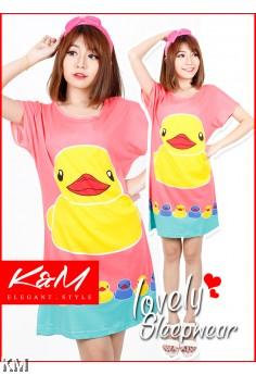 KM Cute Korean Sleepwear/ Night Dress (M17216)