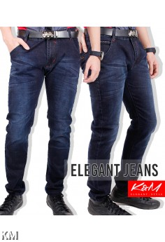 KM Korean Men Jeans/ Slim Fit [M14699]