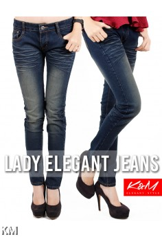 Lady Slim Fit Jeans  [M18611]