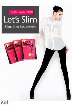 KM Let's Slim 200M Power High Up Tights [M117]