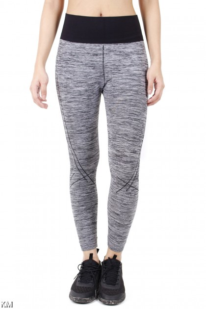 Grey Fitness Lady Sports Bottom [M27474]