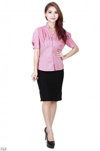 KM Lady Office Shirt [M30992]