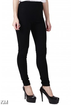 Lady Black Long Pants [M10029]