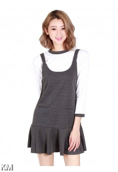 Elegant Lady Korean Mini Dress [M406]