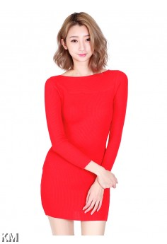 KM Lady Korean Mini Dress [M11362]