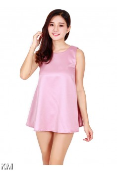 KM Lady Sleeveless Blouse [M488]