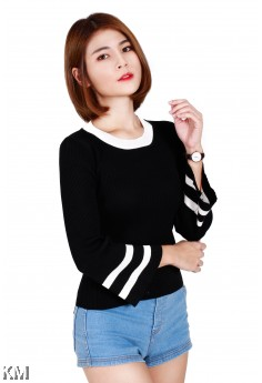 Stylish Long Sleeved Top [M239]