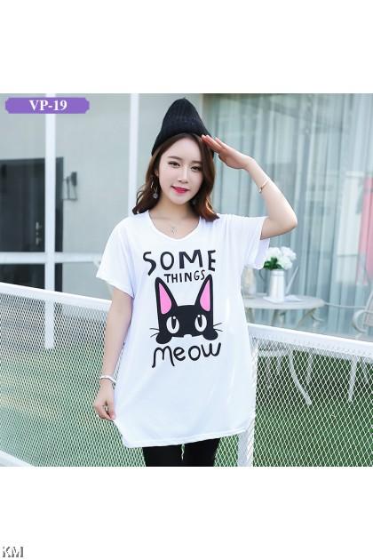 Plus Size Graphic T-Shirt (6 Designs) M10551-B
