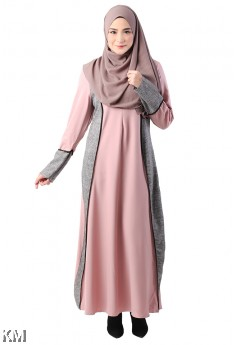 Colourblocks Jubah [ M11035]