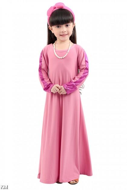 Kids Luxe Jubah Muslimah [M8345]