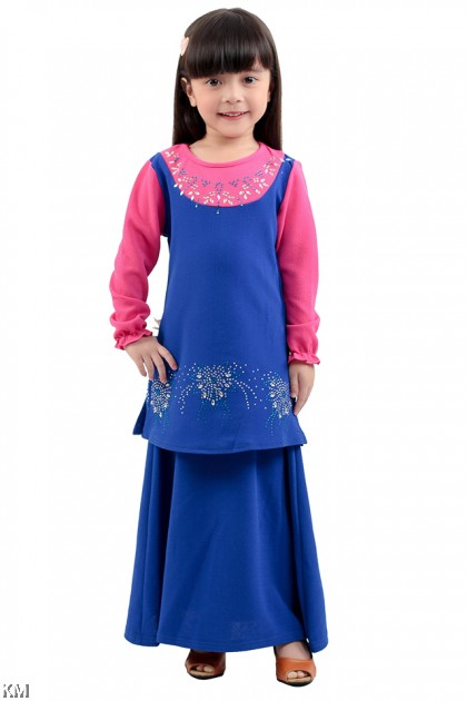Kids Modest Baju Kurung [M11409/M11410]