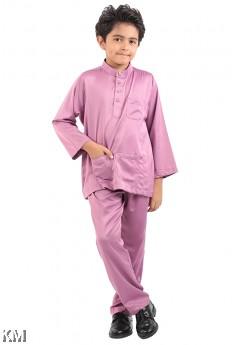 Kids Collar Button Baju Melayu [M16616]
