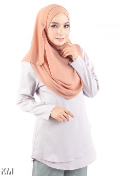 Double layer Peplum Top [M20301]