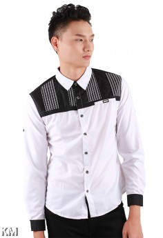 Signature Men Slim Fit Shirt [M11622]