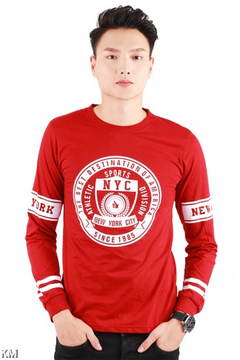 NYC Sports Long Sleeve Graphic Tee [M1022]