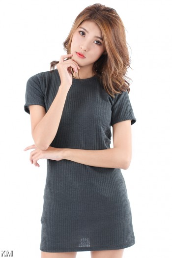 Knitted Long Top [M11069]