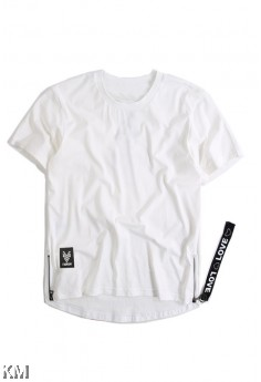 [M21436] Korean Style Men Hip Hop T Shirt