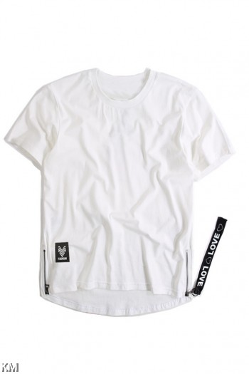 [M21436] Korean Style Men Hip Hop T Shirt