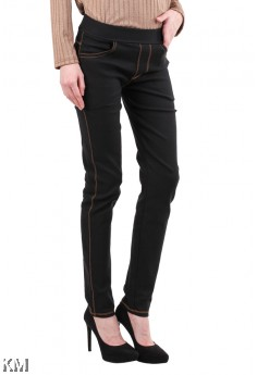 [M21817] M-4XL Skinny  Elastic Jeans