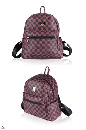 Premium Leather Casual Backpack [M21414]