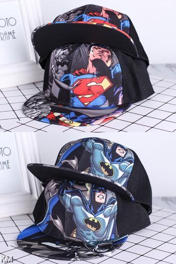Kids Super Hero Printed snapback // Baseball Cap // Children Hat [M20387]