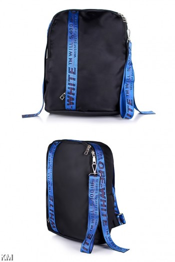 Korean Style Tape Sporty Backpack [M22525]