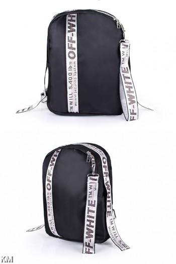 Korean Style Tape Sporty Backpack [M22525]