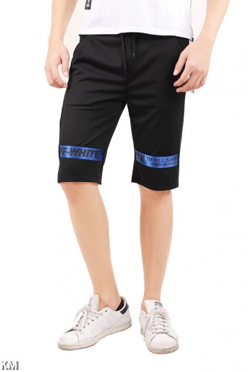 Men Street Style Pants With Front Tape [M824]