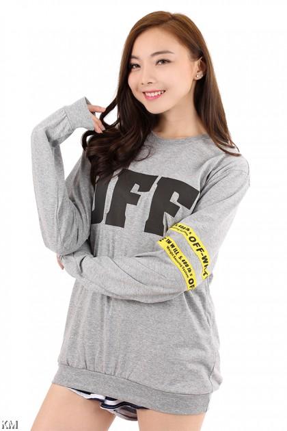 OFF Long Sleeve T Shirt [M6181]