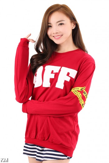 OFF Long Sleeve T Shirt [M6181]
