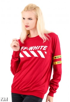 OFF WHITE Long Sleeve T Shirt [M6182]