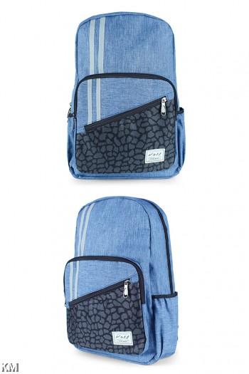 KM Tilted Zip Backpack [M22758]