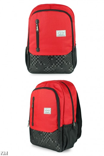 KM Checkered Backpack [M22765]