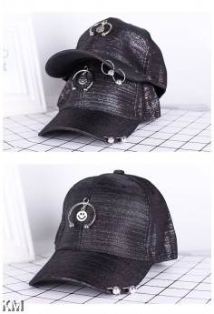 [M387] Dazzling Smiley Baseball Cap