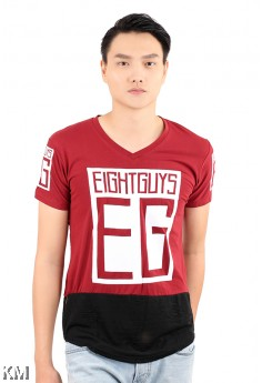 EG Men V-neck T Shirt [M21531]