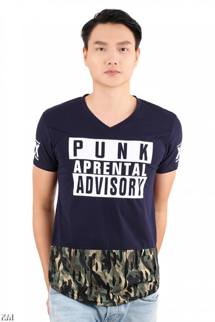 Advisory V Neck T Shirt [M21533]