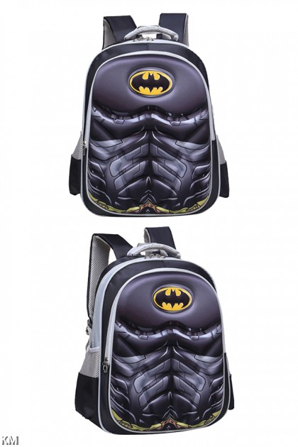 3D Children Superhero School Bag [M22912]