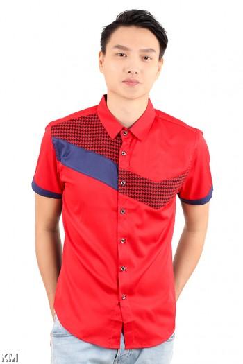 Sharp Solid Men Shirt [M18149]