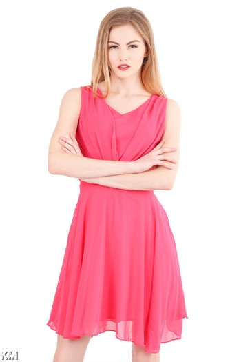 Wrap Lady Dress [M468]