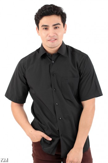 Stripe Textured Regular Fit Formal Shirt [M20994]