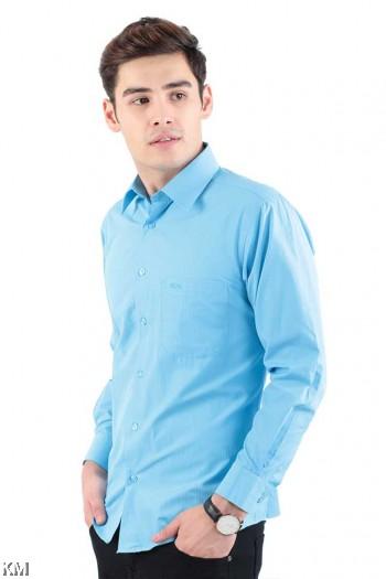 Striped Long Sleeve Formal Shirt [M20996]