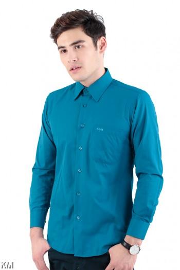 Embellished Cotton Slim Fit Formal [M23115]